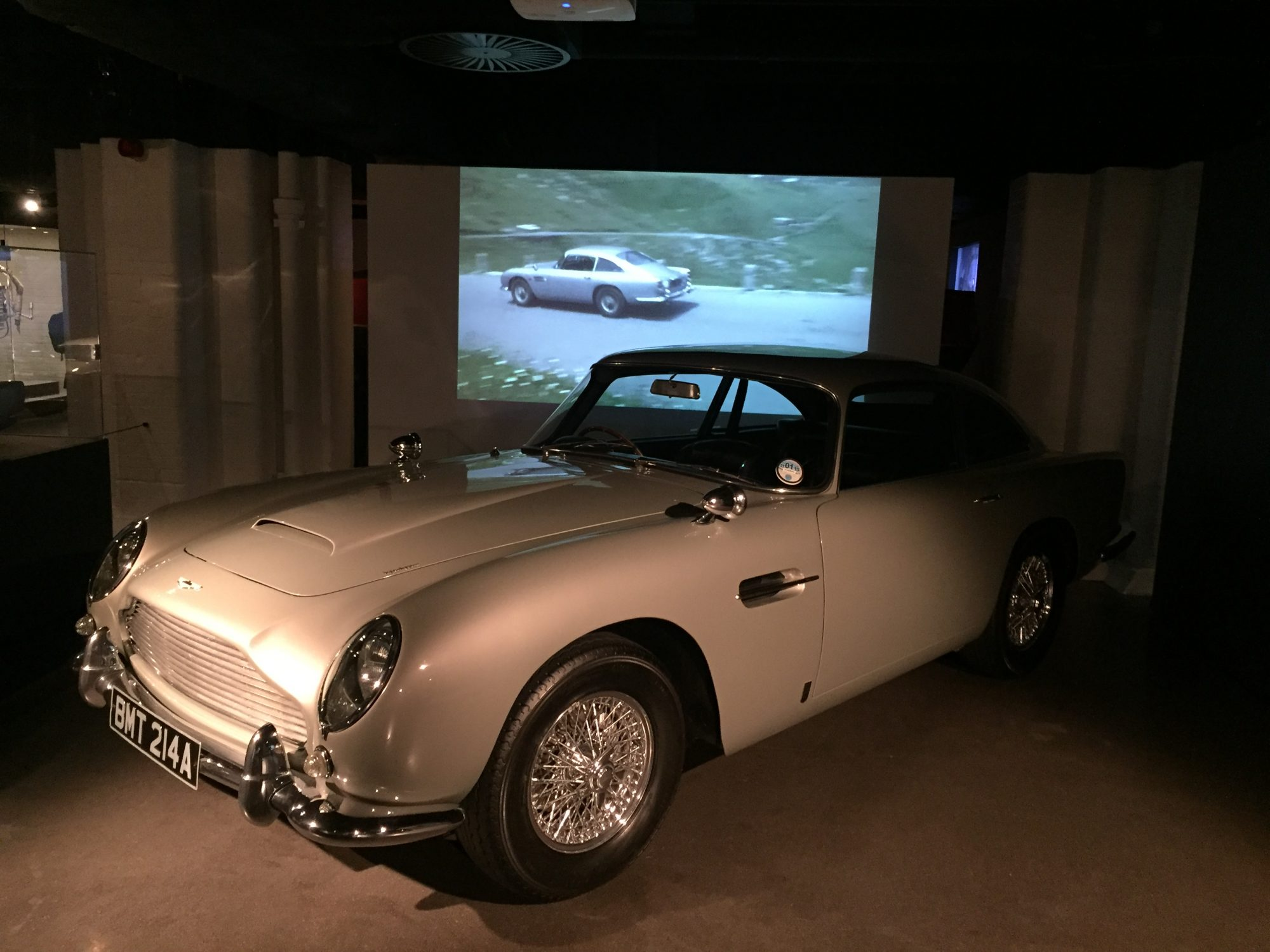 """Aston Martin has now started production of the promised """"James Bond"""" spec DB5 continuation models."""